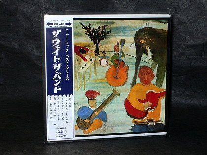 THE BAND MUSIC FROM BIG PINK Japan CD IN MINI LP SLEEVE TOCP-67391 NEW