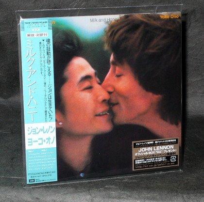 JOHN LENNON MILK AND HONEY JAPAN LTD ED MINI LP Sleeve TOCP-70400 CD NEW