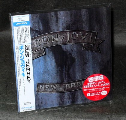 BON JOVI NEW JERSEY Japan CD MINI LP SLEEVE MUSIC ALBUM UICL-93004 NEW