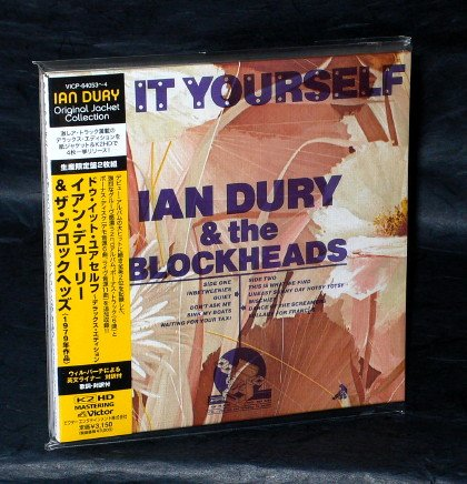 IAN DURY DO IT YOURSELF Japan ROCK CD MINI LP SLEEVE VICP-64053 NEW