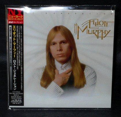 ELLIOTT MURPHY LOST GENERATION Japan CD MINI LP Sleeve BVCM-35257 ALBUM NEW