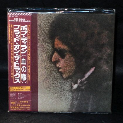 BOB DYLAN BLOOD ON THE TRACKS Japan CD MINI LP SLEEVE MHCP-377 NEW