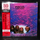FOCUS MOVING WAVES JAPAN CD MINI LP SLEEVE VICP-64244 NEW