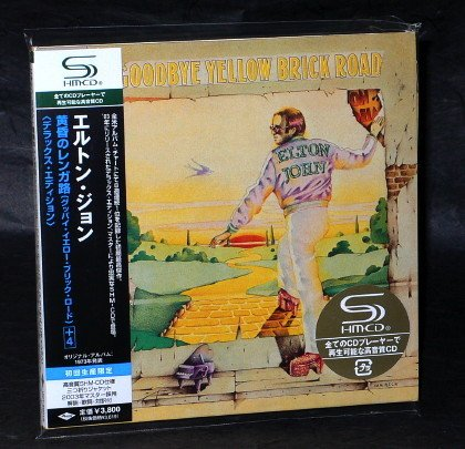 ELTON JOHN GOODBYE YELLOW BRICK ROAD Japan SHM CD MINI LP Sleeve UICY-93671 NEW