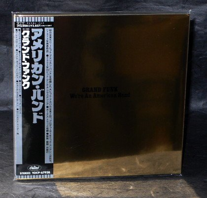 GRAND FUNK RAILROAD WE'RE AN AMERICAN BAND Japan CD MINI LP Sleeve TOCP-67928