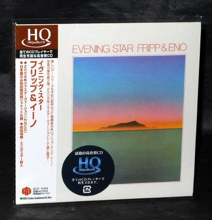 FRIPP AND ENO EVENING STAR CD MINI LP JAPAN Sleeve IECP-10153 NEW