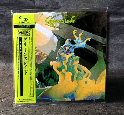 GREENSLADE UK PROG ROCK JAPAN CD MINI LP SLEEVE ARC-8018 NEW