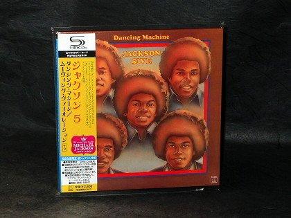 The Jackson 5 Dancing Machine Moving Violation Japan SHM CD LP Sleeve NEW