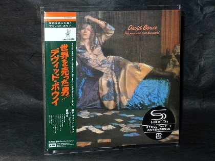 David Bowie The Man Who Sold The World JAPAN SHM CD MINI LP Sleeve TOCP-9504 NEW