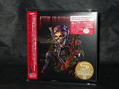 Guns N' Roses Tribute Album Attitude For Destruction Japan 2 CD Mini LP NEW