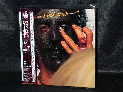 Frank Zappa Joe's Garage Acts II & III JAPAN CD Mini LP Sleeve VACK-1344 NEW