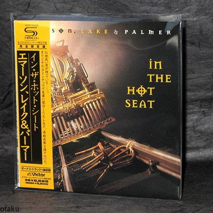 Emerson Lake Palmer In Hot Seat Japan CD Mini LP NEW