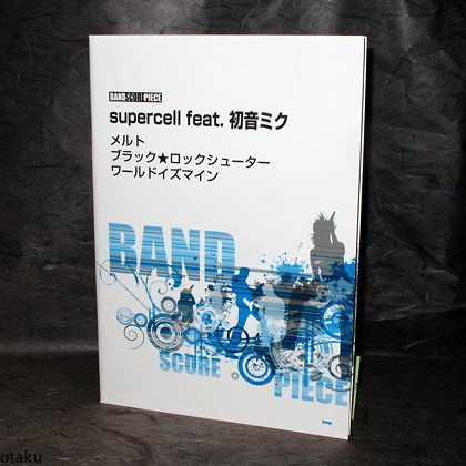 SUPERCELL FEAT MIKU HATSUNE Melt BAND SCORE NEW