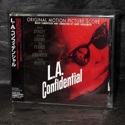 Jerry Goldsmith L.A. Confidential Japan Soundtrack CD