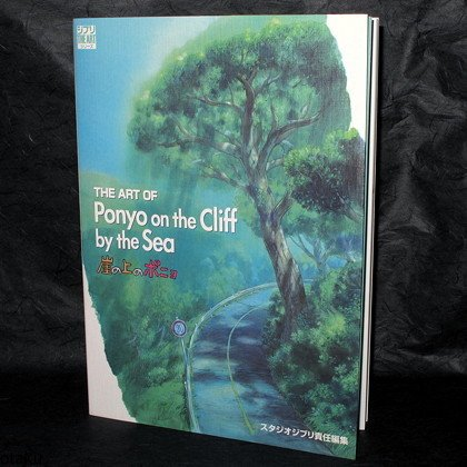 The Art Of Ponyo On The Cliff By The Sea Japan Anime Movie Film Art Book