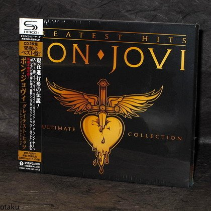 BON JOVI CD JAPAN NEW