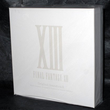 Final Fantasy XIII Original Soundtrack Japan 5 CD 1st Limited Edition Box Set