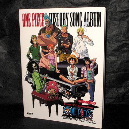 One Piece Piano Solo Score Book Japan Anime Manga Music NEW