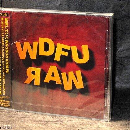 WAGDUG FUTURISTIC UNITY Raw JAPAN ROCK CD 2011 NEW