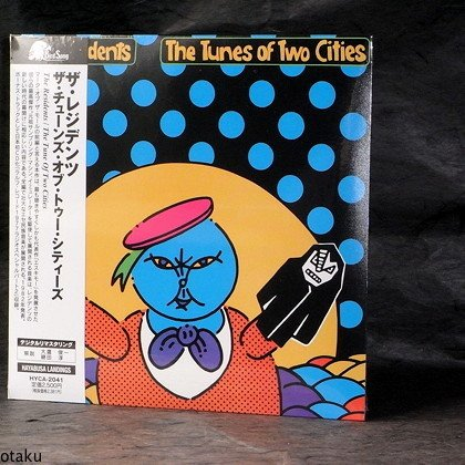 THE RESIDENTS Tunes Of Two Cities JAPAN CD MINI LP NEW