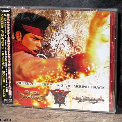 Virtua Fighter 5 Game Music Soundtrack Japan CD NEW