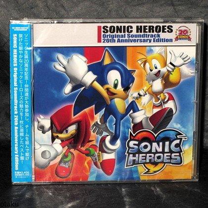 SONIC HEROES Original Soundtrack 20th Anniversary Ed