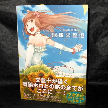 Spice And Wolf Complete Artworks Japan Anime Art BOOK NEW