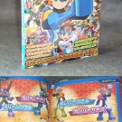 MEGA MAN BATTLE NETWORK DS GAME CHARACTER ART BOOK NEW