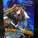 Works Group 4 Illustrations Art Book Japan Anime Manga Character Art Book