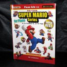 Super Mario Series Piano Solo Score Japan Video Game Music Book NEW