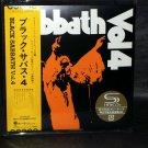 BLACK SABBATH VOL.4 JAPAN MUSIC SHM CD IN MINI LP SLEEVE NEW