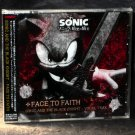 Sonic And The Black Knight Vocal Trax face To Faith Japan Game Music CD NEW