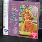 JULIE LONDON LOVE ON THE ROCKS CD MINI LP JAPAN NEW