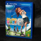 Minna no Golf 6 Everybody's Golf PlayStation PS Vita PSV Japan Game