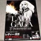 Lady Gaga Monster Ball Born this Way Remix Large Poster x 2 NEW