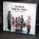 FINAL FANTASY XIII Episode Zero Promise Japan Drama CD Game Soundtracks NEW