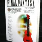 Final Fantasy Ukulele Solo Collections Score Book and CD RPG Game Music NEW