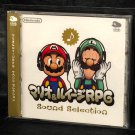 MARIO LUIGI RPG SOUND SELECTION DS GBA MUSIC CD