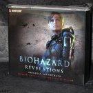 BIOHAZARD REVELATIONS Resident Evil Soundtrack 1st Ed Japan Game Music 3 CD NEW