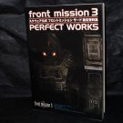 Front Mission 3 Perfect Works DigiCube Squaresoft Japan Game Art Book