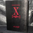 X Zero X Illustration Collection By Clamp Japan Harcover Anime Manga Art Book