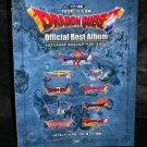 Dragon Quest I To IX Official Best Album Piano Score Square Enix Game Music Book