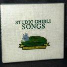 Studio Ghibli Songs 1st Edition with Hardcover Book Japan ANIME MUSIC CD