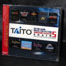 TAITO RETRO GAME MUSIC COLLECTION 5 SHOOTING CLUSTER Japan Game Music CD NEW