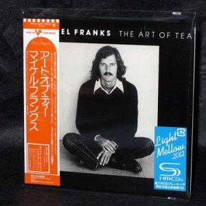 Michael Franks The Art Of Tea JAPAN MUSIC SHM CD MINI LP NEW