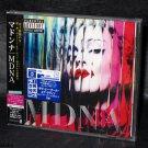 NEW 2012 Madonna MDNA Japan Exclusive Bonus Track 18 Tracks CD Album NEW