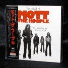 The Ballad Of Mott The Hoople Music Japan CD mini LP NEW