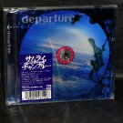 """Nujabes -Samurai Champloo music record """"departure"""" Anime MUSIC CD NEW"""
