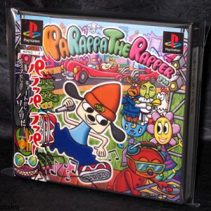 Parappa The Rapper Playstation PS One PS1 Game FUN GAME JAPAN