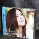 YUI Holidays In The Sun Japan JPOP Music CD NEW